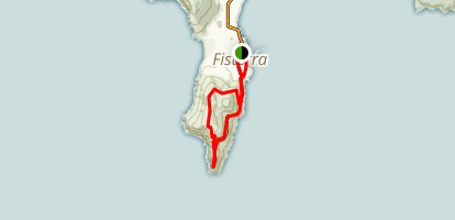 Finisterre (A walk at the End of the Earth) Map