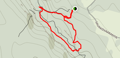 Kurouoma Gorge Hike Map