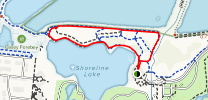 Shoreline Lake Map