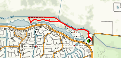 Bridgeland Lake [PRIVATE PROPERTY] Map