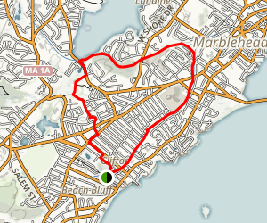 Marblehead Rail-Trail Map