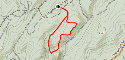Rocky Knob Trail Map