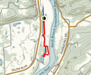 Susquehanna Riverlands Loop Map