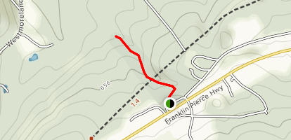 Chesterfield Gorge State Wayside Trail Map