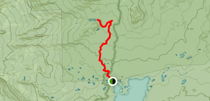 Marie Lake Trail Map