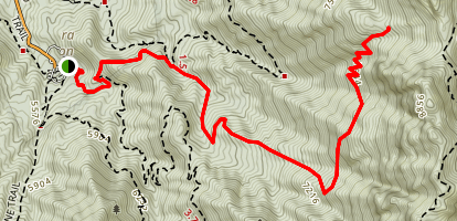 The Shovel Trail Map