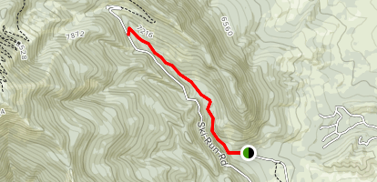Willow Creek Trail No. 105 Map