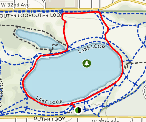 Crown Hill Lake Loop and Nature Trail Map