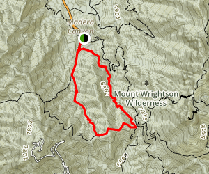 Carrie Nation Loop Map
