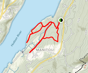 Manitou Point Preserve Trail [PRIVATE PROPERTY] Map