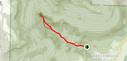 Lost Valley Trail Map