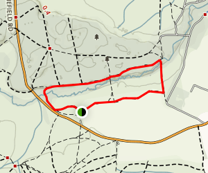 Whitefield Moor Loop Map