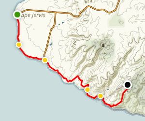 Heysen Trail: Cape Jervis to Cobbler Hill Map