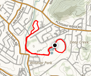 Victor Ashe Park Loop Map