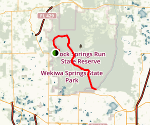 Rock Springs Run Trail Map