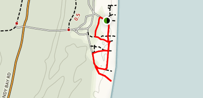 Point Beach Trail Map