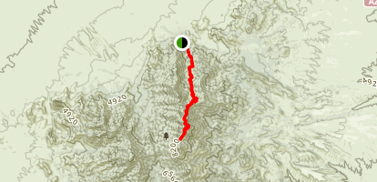 Florida Canyon to Baldy Saddle Map