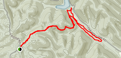Logan Hollow Trail Map