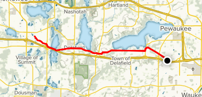 Lake Country Recreation Trail Map