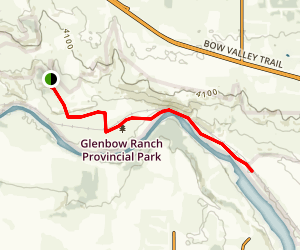 Glenbow Trail Map