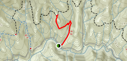 Tunnel Ridge Trail Map