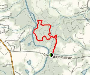 Basin Creek and Homestead Loop Trails Map