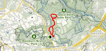 Morning Choice & Old Track Loop  Map