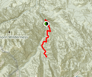 Gold Creek Trail Map