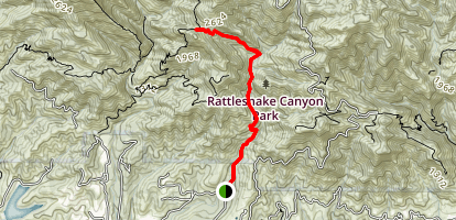 Rattlesnake Canyon Map