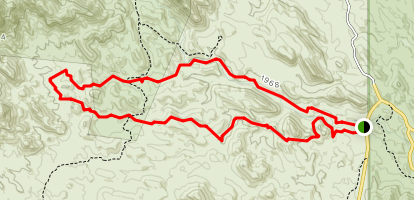 Walkin' Jim Trail Map
