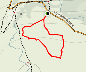 Eyjan Hill Map