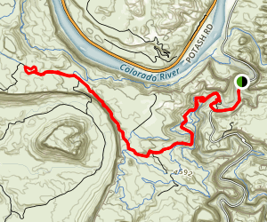 Amasa Back and Cliffhanger Trail Map