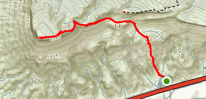 Mount Garfield Map