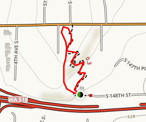 Mathison Park Loop Map