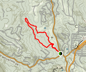 Shadow Pines Loop Trail Map
