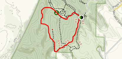 The Chute and Heritage Trail Loop  Map