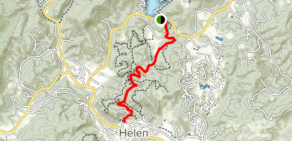Map Of Georgia Helen.Unicoi To Helen Trail Georgia Alltrails
