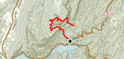 Clemmer Trail Map