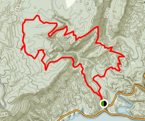 Chilhowee Trails Map