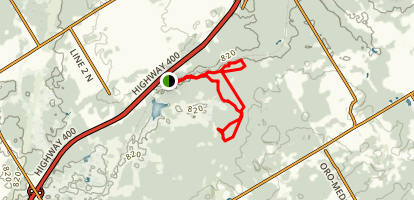 Copeland Forest Trail Map