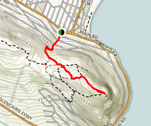 Elsie's Peak Trail Map