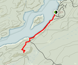 Grace Creek Overlook Map