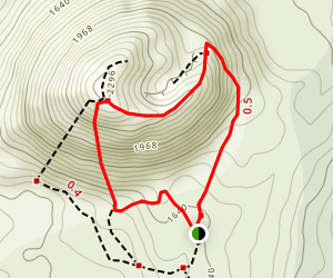 Cerro Negro Volcano Trail Map