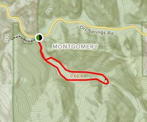 Montgomery Grove Trail Map