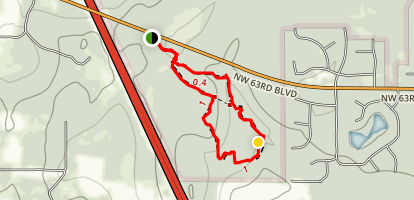 Creek Sink Trail Map