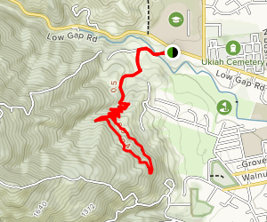 City View Trail Map