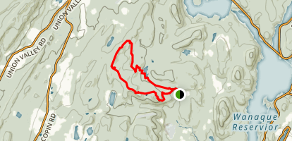 Manaticut Point Trail Map