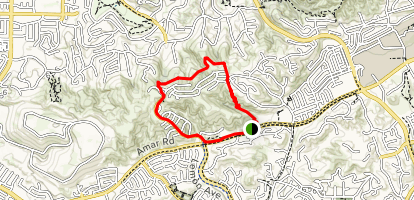 Schabarum Trail Map