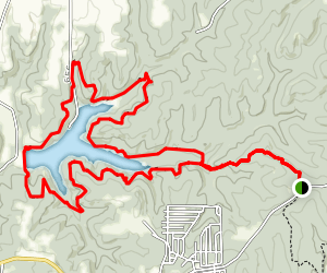 Spring Valley Trail Map