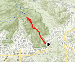 Sunrise Peak via Sunrise Trail Map